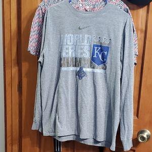 Vintage KC Royals Tee Size XL